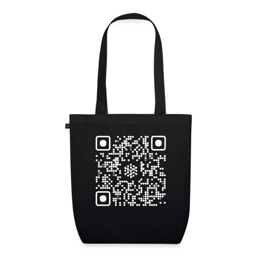 QR Safenetforum White - EarthPositive Tote Bag