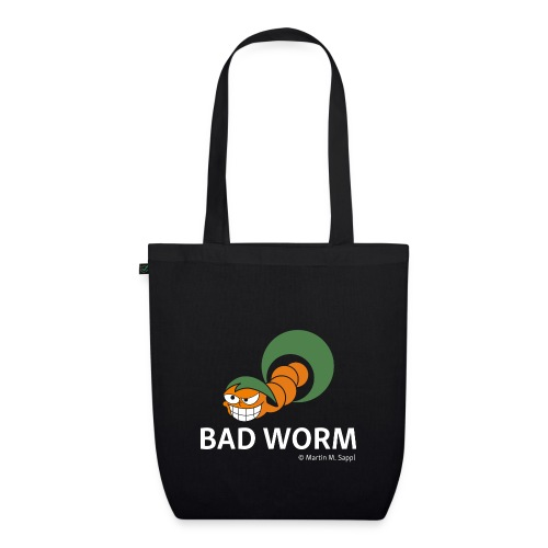 Bad worm - Bio-Stoffbeutel