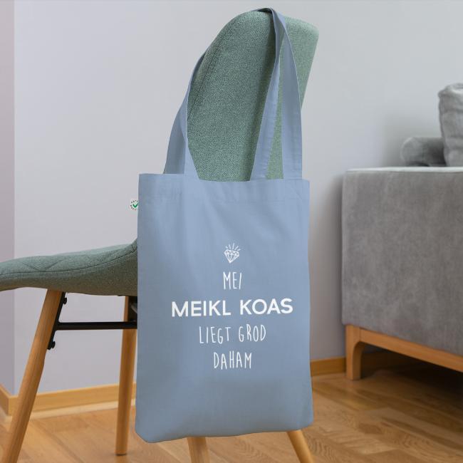 Vorschau: Mei Meikl Koas liegt grod daham - Bio-Stoffbeutel