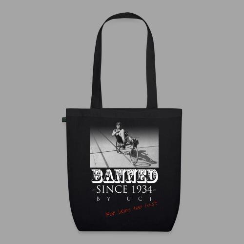 Recumbent Bike Banned since 1934 - Luomu-kangaskassi