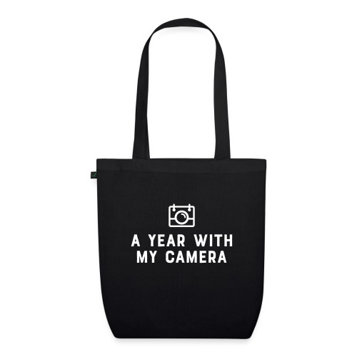 White AYWMC logo & text stacked - EarthPositive Tote Bag