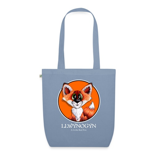 llwynogyn - a little red fox (white) - Luomu-kangaskassi