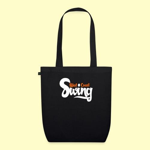 West Coast Swing Dance Geschenk T-Shirt - Bio-Stoffbeutel
