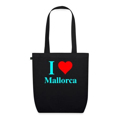 I love Mallorca - aktuelles Design von wirMallorca - Bio-Stoffbeutel