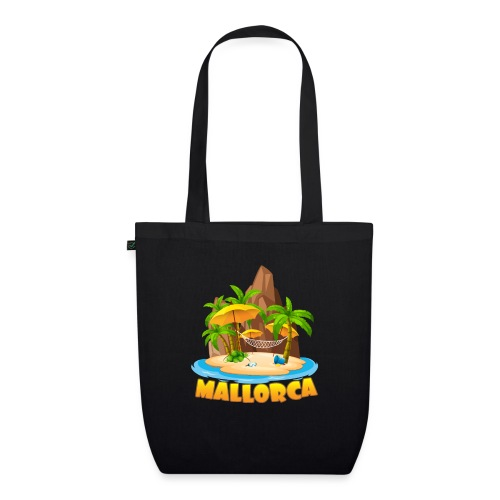Mallorca - schau wie schön die Insel ist! - Bio-Stoffbeutel