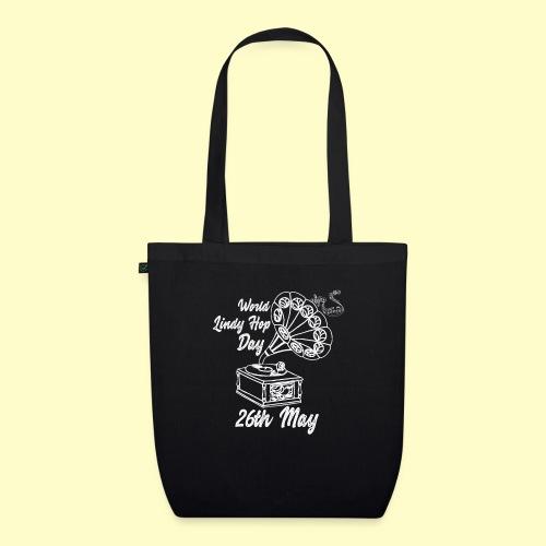 Lindy Hop Day Swing Dancing Vintage Geschenk - Bio-Stoffbeutel