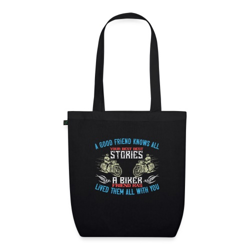 Biker stories. - EarthPositive Tote Bag
