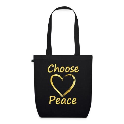 Choose Peace - EarthPositive Tote Bag