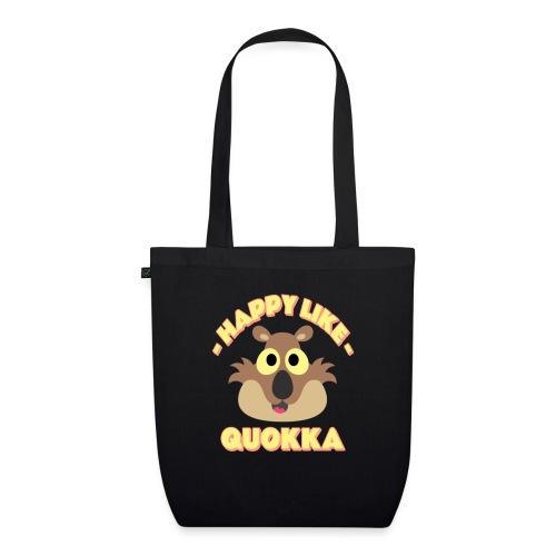 Happy like a quokka - Animal, love cute quokka - Sac en tissu biologique