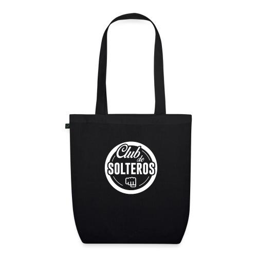Club de Solteros (logo blanco) - Bolsa de tela ecológica