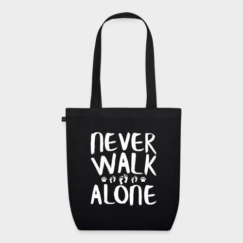 Never Walk Alone Hund - Bio-Stoffbeutel
