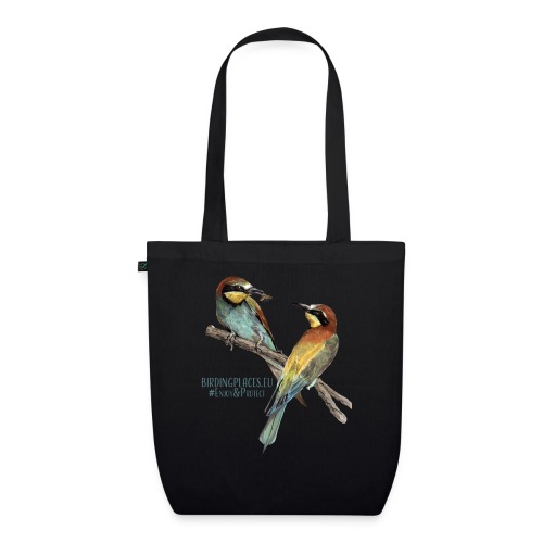 Bee-eaters Birdingplaces - EarthPositive Tote Bag