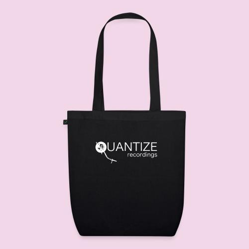 Quantize White Logo - EarthPositive Tote Bag