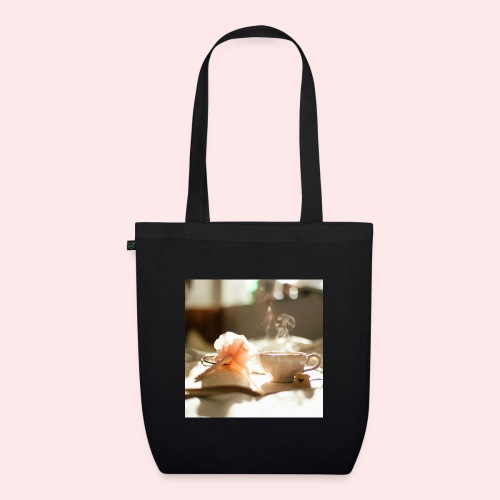 cup saucer pen fl jpg - EarthPositive Tote Bag