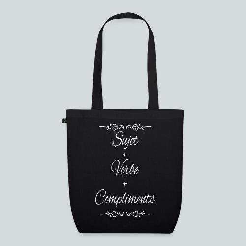 Sujet+verbe+compliments - Sac en tissu biologique