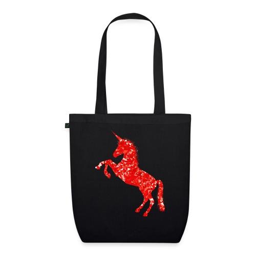 unicorn red - Ekologiczna torba materiałowa
