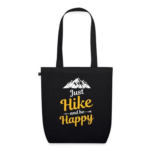 Just Hike And Be Happy Nature-Design für Hiking - Bio-Stoffbeutel