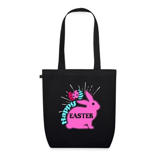 Happy Easter - Frohe Ostern - Bio-Stoffbeutel