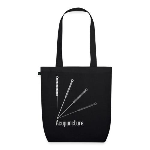 Acupuncture Eventail (logo blanc) - Sac en tissu biologique