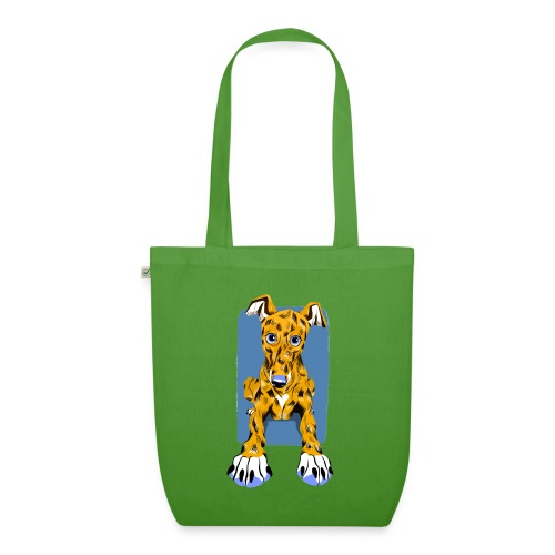 HUG Greyhound Pup - EarthPositive Tote Bag