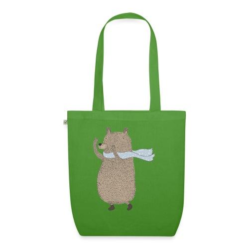 Fluffy Cuddle Bear by #OneCreativeArts - Bio-Stoffbeutel