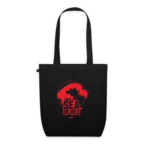 Sea of red logo - red - EarthPositive Tote Bag