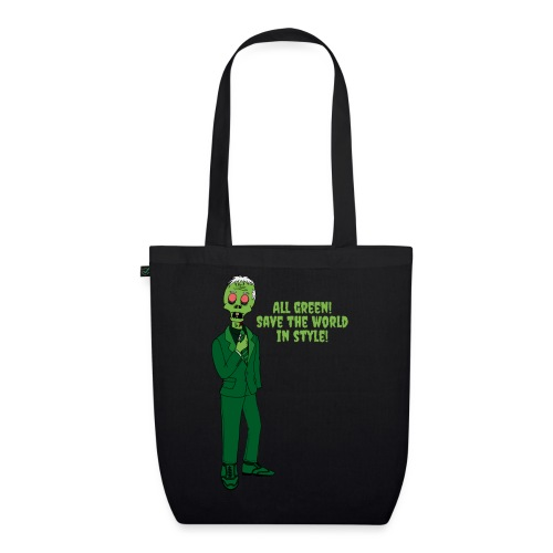 All Green - EarthPositive Tote Bag