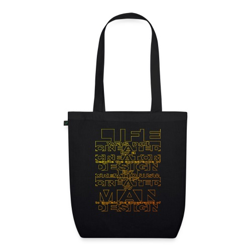 CREATIONISM was CREATED - EarthPositive Tote Bag