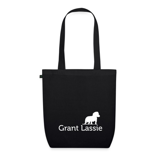logo dackel white - EarthPositive Tote Bag