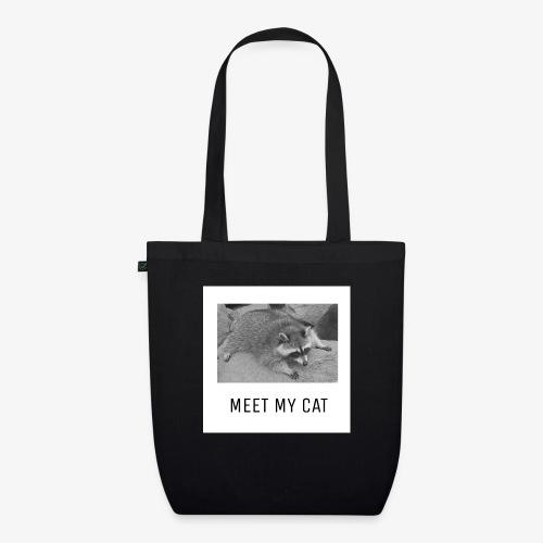 Meet My Cat - Luomu-kangaskassi
