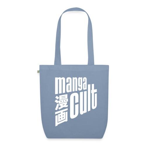 Manga Cult Logo Weiß - Bio-Stoffbeutel
