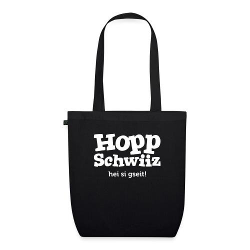 Hopp-Schwiiz hei si gseit - Bio-Stoffbeutel