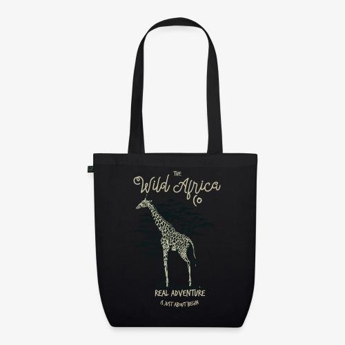 Girafe - Sac en tissu biologique