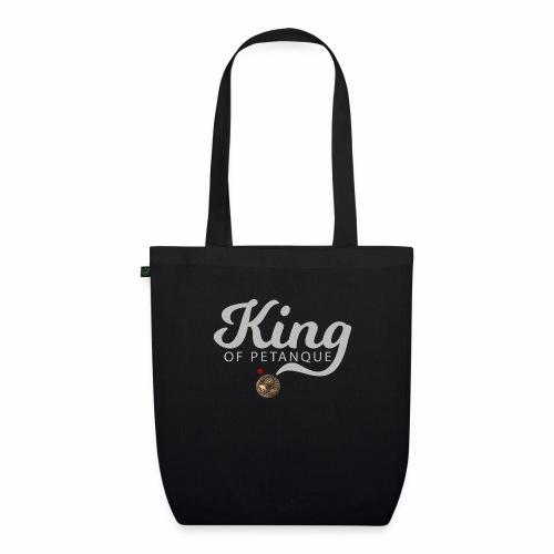 KING OF PETANQUE - Sac en tissu biologique