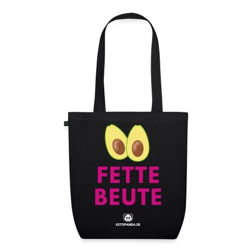 Fette Beute (dunkel) - Bio-Stoffbeutel