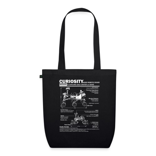 Curiosity Mars Rover - EarthPositive Tote Bag