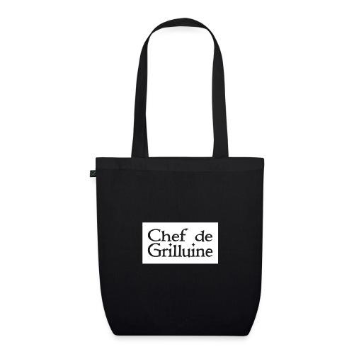 Chef de Grilluine - der Chef am Grill - Bio-Stoffbeutel