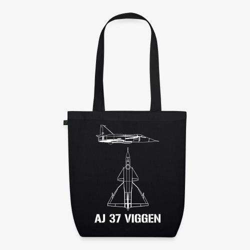 AJ 37 VIGGEN - Ekologisk tygväska
