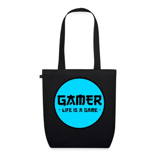 Gamer Life is a Game - Bio-Stoffbeutel