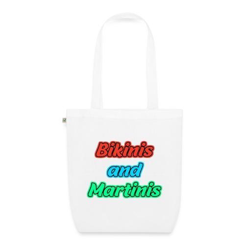 Bikinis & Martinis - Bio-Stoffbeutel
