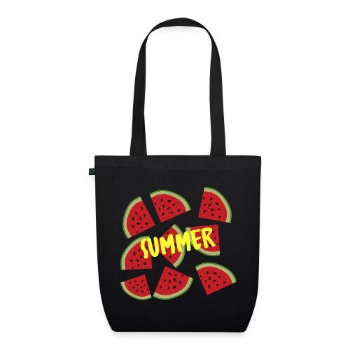 Sommer Sonne Wassermelone - Bio-Stoffbeutel