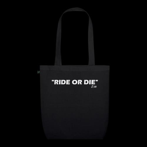 Ride or die (blanc) - Sac en tissu biologique