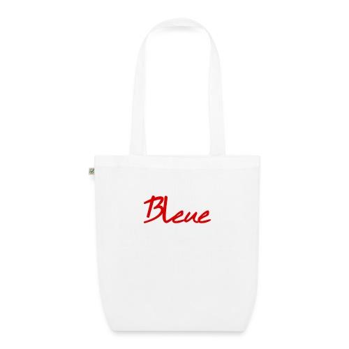 La Chair Bleue est la couleur de mes rêves #1 - Sac en tissu biologique