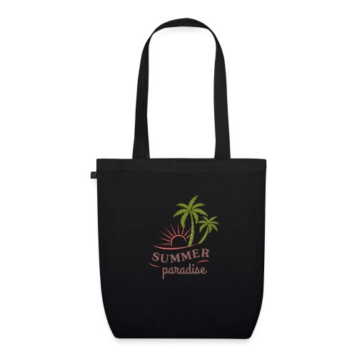 Summer paradise - EarthPositive Tote Bag