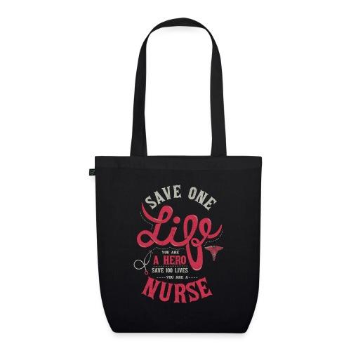 Vintage hero nurse - Luomu-kangaskassi