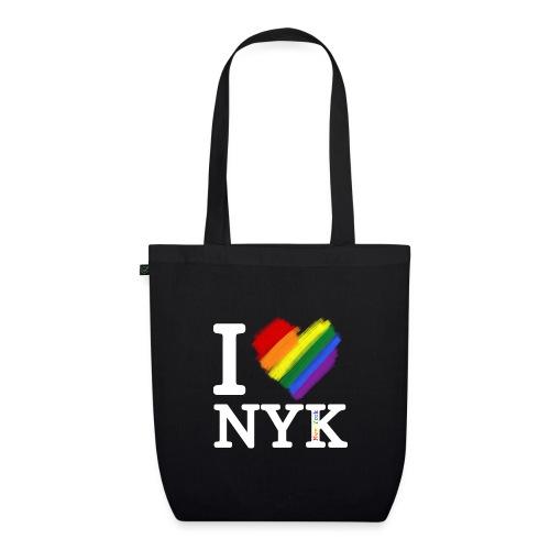 I love NYK - Bolsa de tela ecológica