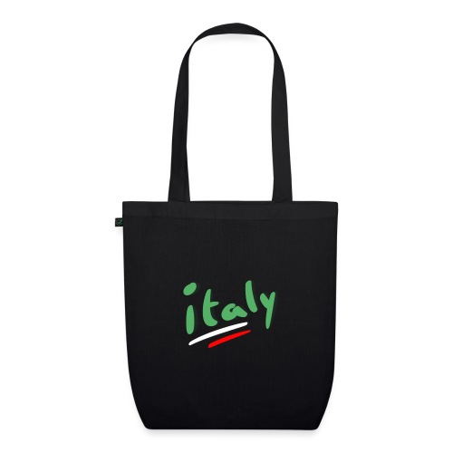 italy - Bolsa de tela ecológica