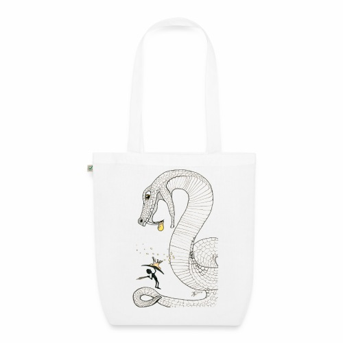 Poison - Fight against a giant poisonous snake - EarthPositive Tote Bag