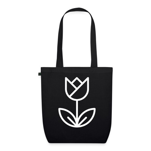 Tulip white png - EarthPositive Tote Bag