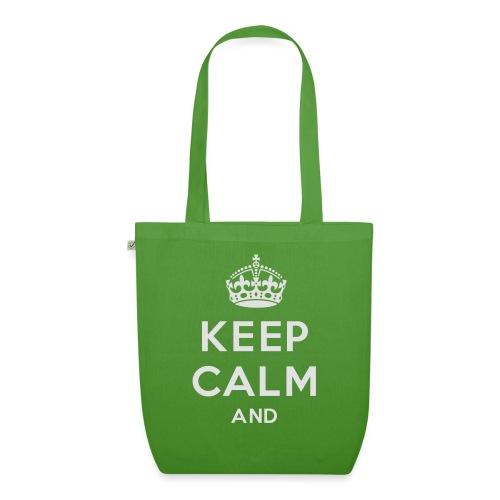keep calm and clean - Øko-stoftaske